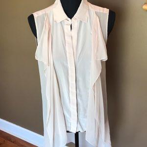 BCBG MAXAZRIA 100% silk top!!!